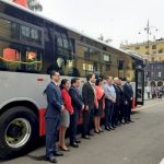 procedure-iv-launches-first electric-bus-in-lima