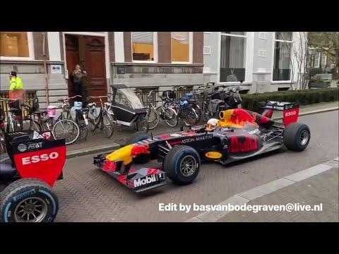 5 Red Bull Racing promoshoot in Den Haag en Scheveningen