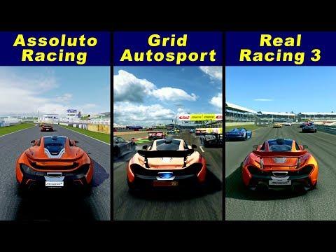 Assoluto Racing vs Grid Autosport vs Real Racing 3 – McLaren P1