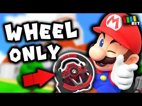 Beating Super Mario 64 with a Mario Kart Racing Wheel? [TetraBitGaming]
