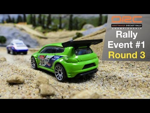 Diecast Rally Car Racing | Event 1 Round 3 | Tomica Hot Wheels Matchbox