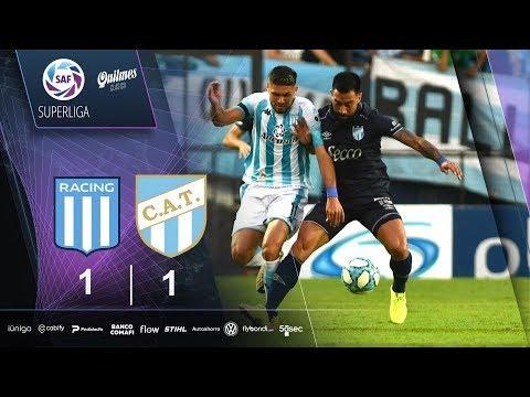 Fecha 17: resumen de Racing – Atlético Tucumán