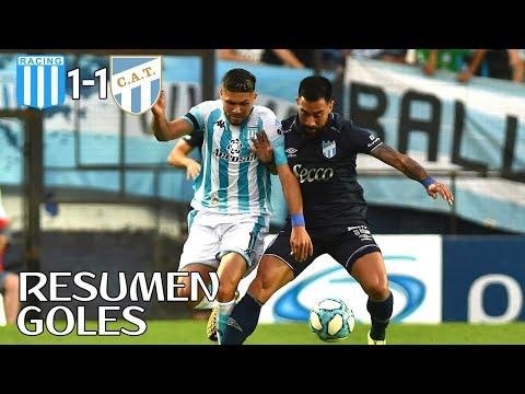 Racing vs Atlético Tucumán (1-1) | Resumen y Goles Superliga Argentina 2020
