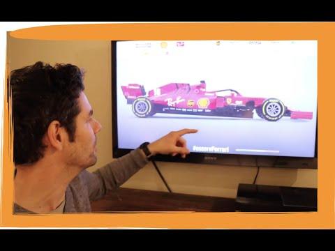 2020 F1 Cars – Ferrari SF1000 Tech Review – MP347