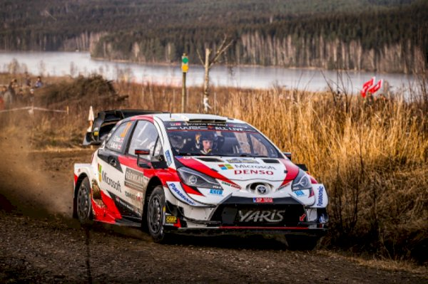 WRC – Evans leads the first day in Sweden