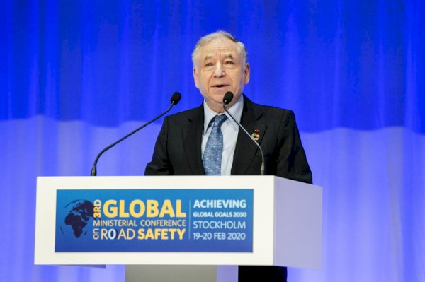 Speech of Jean Todt on the closing session of the third World Ministerial Convention on Dual carriageway Security in Stockholm