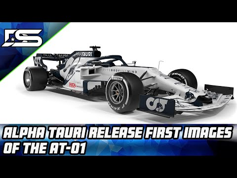 Alpha Tauri launches the AT01 2020 F1 car!
