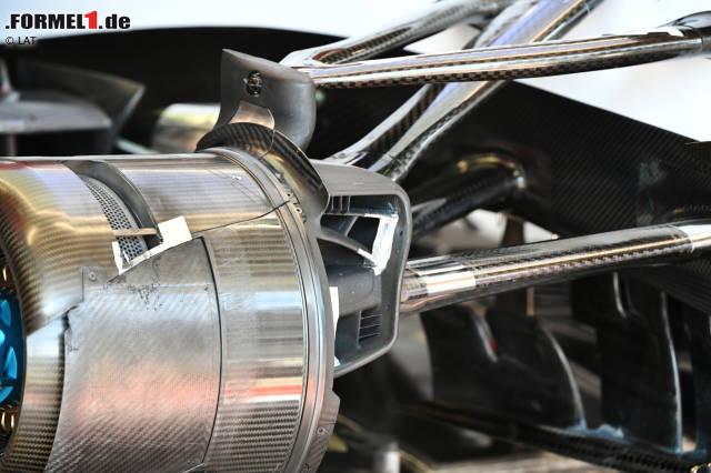 Die zweite Testwoche der Formel 1 in Barcelona hat begonnen. Es gibt auch schon erste Neuerungen an den Fahrzeugen. Wir zeigen sie in dieser Fotostrecke!