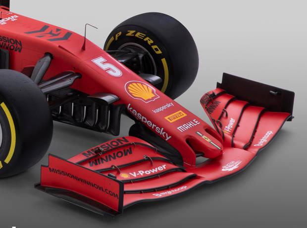Ferrari-Frontflügel
