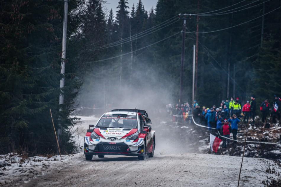 2020 WRC - Rally Sweden - E. Evans / S. Martin
