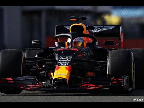 F1 2020 – Red Bull RB16 on track at Silverstone with Max Verstappen & Alex Albon
