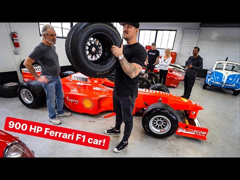 HOW TO EMBARRASS SUPERCAR OWNERS? BUY A FERRARI F1 CAR…