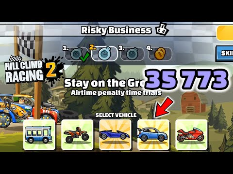 Hill Climb Racing 2 – 35773 points in RISKY BUSINESS Team Event