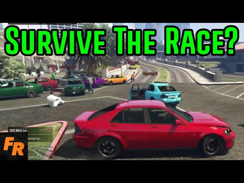 Survive The Hunt But It's A Race – Gta 5 Racing
