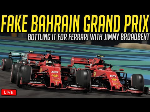 Taking on F1 Drivers, Pro Golfer and Real Madrid Goalkeeper in Fake Bahrain Grand Prix