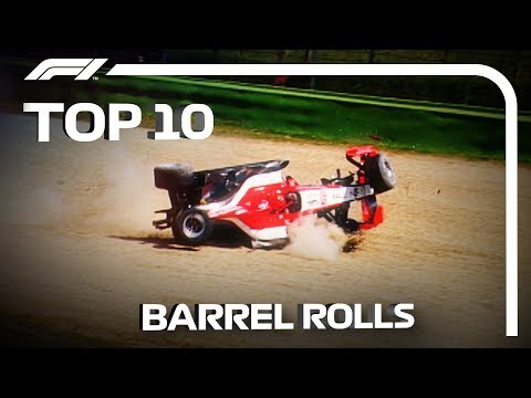 Top 10 Barrel Rolls in F1