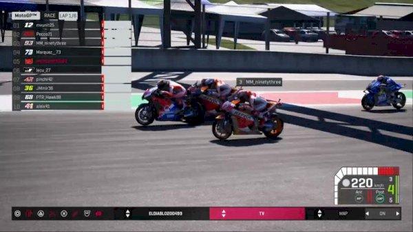 MotoGP™ Virtual Escape: a tale-breaking eSport world match
