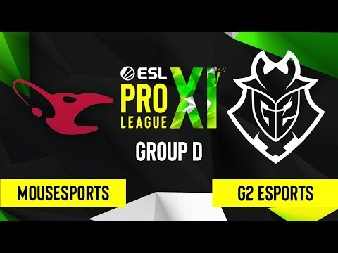 CS:GO – G2 Esports vs. mousesports [Train] Map 2 – ESL Pro League Season 11 – Group D