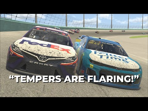 Drivers-Only Audio: eNASCAR/iRacing event at Homestead