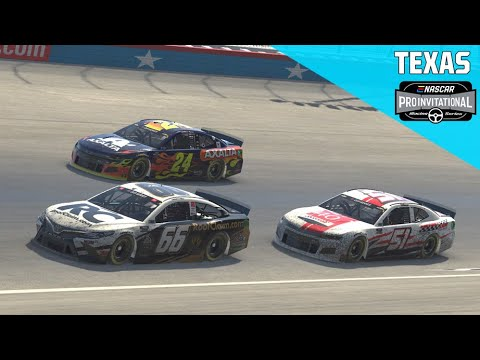 Full iRacing Replay: O'Reilly Auto Parts 125 from Texas Motor Speedway | Pro Series Invitational
