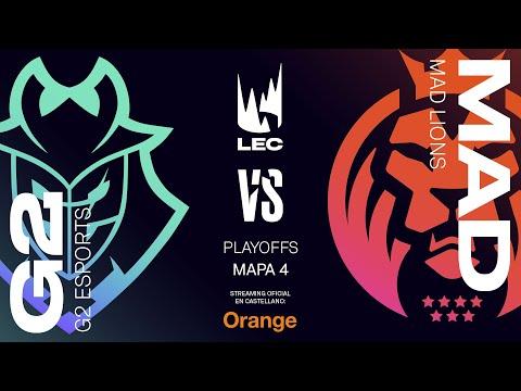 G2 Esports vs MAD Lions   Parte 2   LEC Spring split 2020   Final Game 4   League of Legends