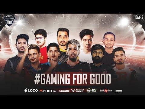 #GamingForGood • Charity Tournament • Day 2 • Loco x Fnatic x OnePlus x Villager Esports