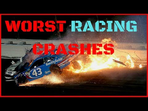 The Worst Racing Crashes in History [+2018]
