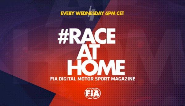 #RaceatHome – FIA Digital Motor Sport Journal