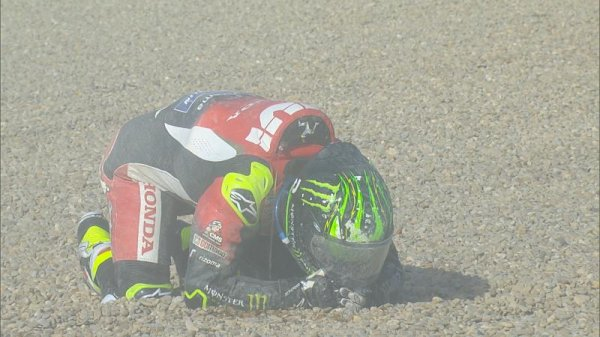 A hit surgical treatment for Crutchlow in Barcelona