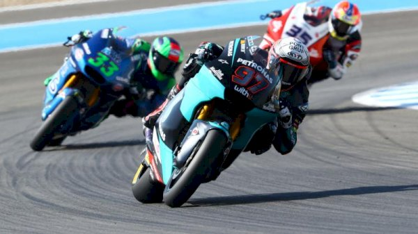 SKY Racing Crew VR46 possess management on Friday in Andalucia