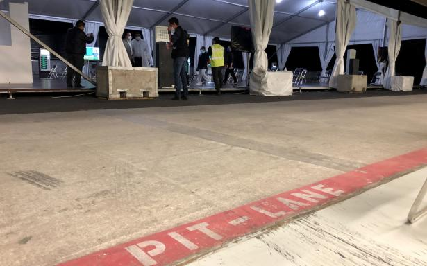 r/formula1 - Autodromo Hermanos Rodriguez (Mexican GP) being used as a temporary hospital