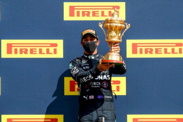 F1 – Hamilton survives gradual puncture to prefer British Mountainous Prix