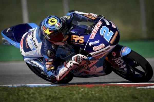 Rodrigo stays quickest in Moto3™ as Fernandez tops FP2