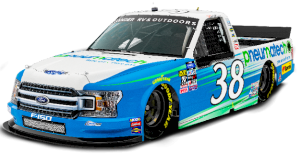Pneumatech to sponsor Todd Gilliland at Las Vegas Truck Collection speed