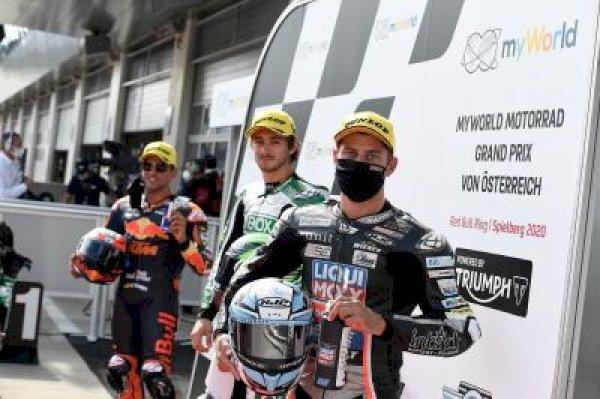 Gardner grabs Moto2™ pole from Martin in Spielberg