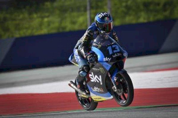 Vietti stays quickest as Arbolino has unique lap legend scrapped