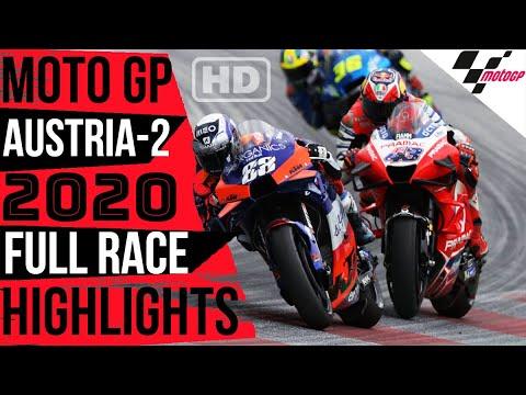 MOTO GP STYRIA 2020 CARRERA EN ESPAÑOL   STYRIA 2020 FULL RACE HIGHLIGHTS   IMPRESIONANTE FINAL