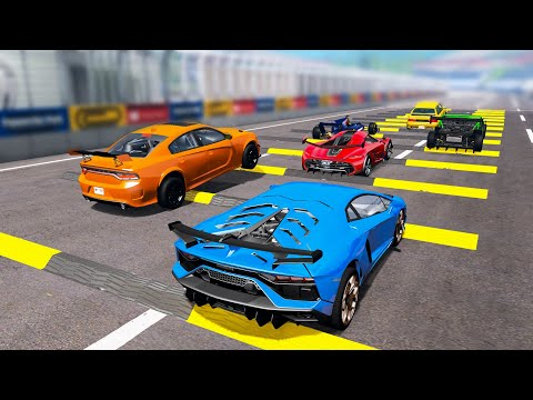 Sports Сar Racing Competition #1 – Beamng drive