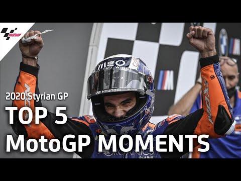 Top 5 MotoGP Moments | 2020 Styrian GP