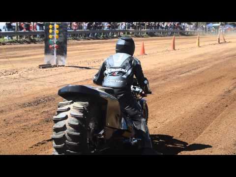 Top Fuel Motorcycle Dirt Drag Racing