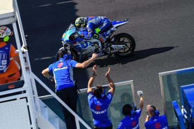 rookie-on-the-upward-push:-alex-marquez-bags-simplest-motogp-end-result