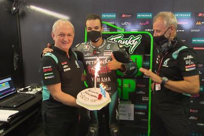 Ramon Forcada celebrates reaching incredible 500 Grands Prix