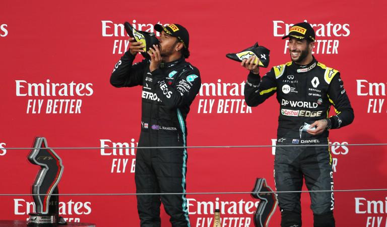 Did Hamilton and Ricciardo violate FIA covid-19 protocols?
