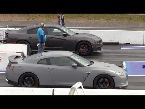 Domestic vs Import – drag racing-Hellcat, GT-R, Audi RS7, Corvette, McLaren