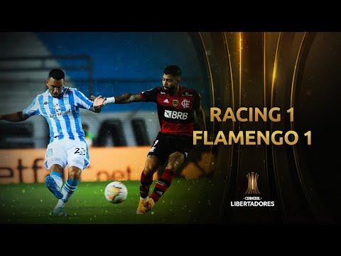 Melhores momentos | Racing 1 x 1 Flamengo | Oitavas de final | Libertadores 2020