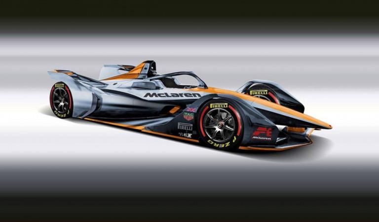 McLaren to enter Formula E in 2022/23