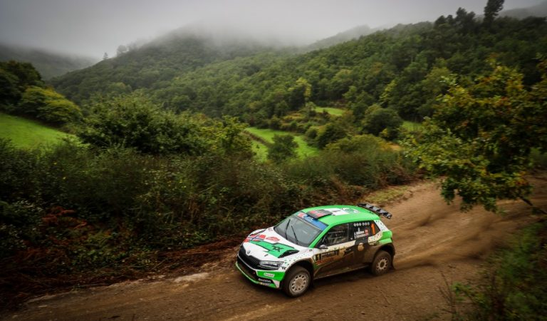 ERC – Mikkelsen beats the climate and Lukyanuk to steer in Portugal