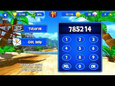 Beach Buggy Racing New Update | Support Code | Android Game Play 2021
