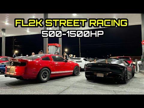 EPIC FL2K STREET RACING! |  500-1500HP | Super Bowl Of East Coast Street Racing!