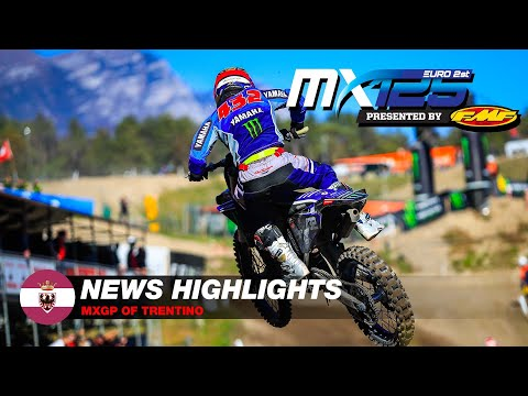 News Highlights | EMX125 Presented by FMF Racing  | MXGP of Trentino 2021 #Motocross